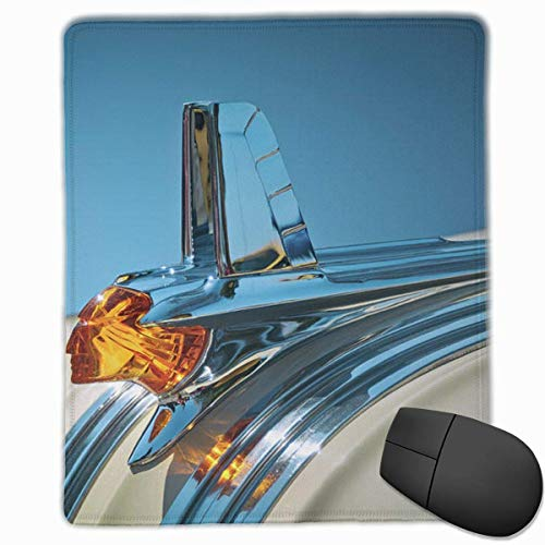 Gaming Mouse Pad, Personalized Custom Mouse Padnon-Slip Rubber Gaming Mouse Pad,Stay Positive Work Hard and Make It Happen 1953-pontiac-hood-ornament