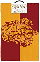 "HARRY POTTER - Door/Floor Mat (Size: 24"" x 16"") (Doormat) (Gryffindor Crest)"