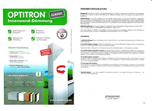 Innenwand Dämmung OPTITRON ® CLASSIC von Selit, 10 mm; 12 m² / Karton