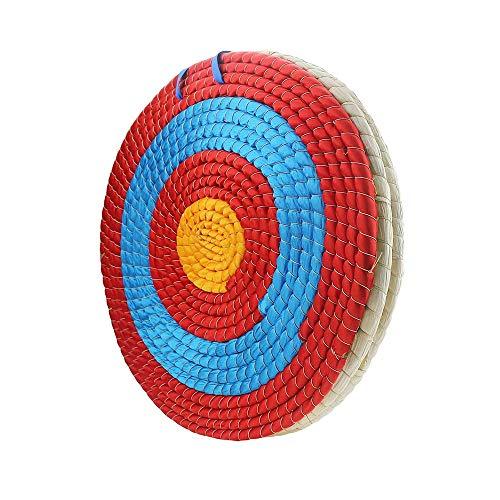 Houozon Stroh Bogenschießen Target, raditional handgewebt klar klar Ziel Scoring Ring Design, für Outdoor-Sport Schießbögen
