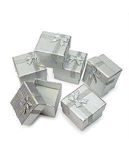 Pinzhi 24x Boîte Coffret Carton Pour Bijoux Cadeau Collier Bracelet Montre Rangement