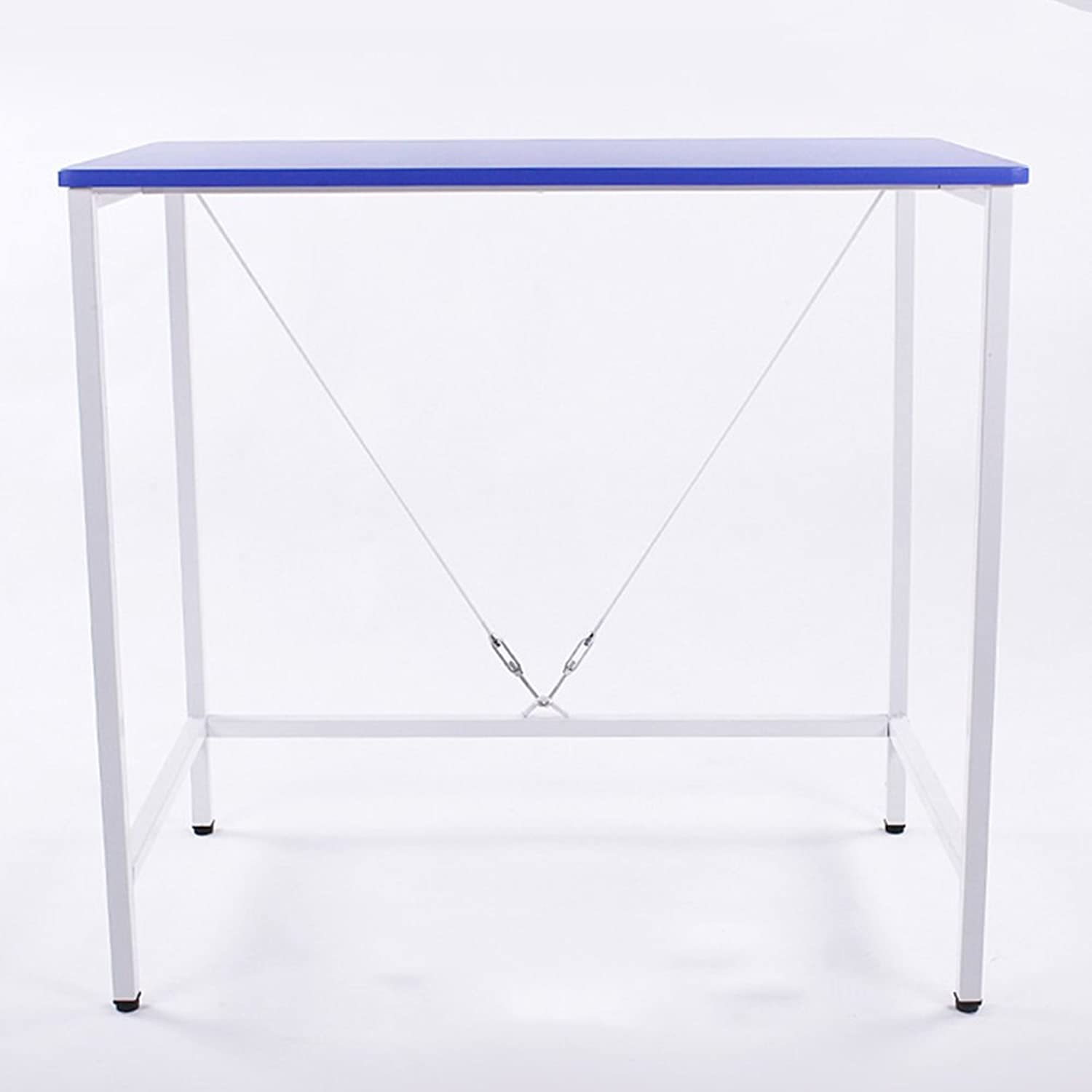 ZZ Folding Table Folding Table Mobile Dining Table Portable Computer Desk Home Storage Table Multi-color Optional (color   C, Size   120  48  74CM)