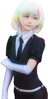 Land of The Lustrous Costume Womens Anime Gems Cosplay Jumpsuit Outfit