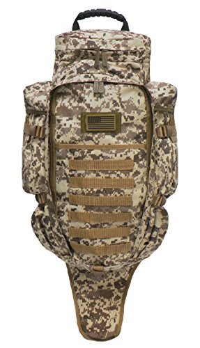 East West U.S.A RT538/RTC538 Tactical Molle Military Assault Rucksacks Backpack, Tan ACU