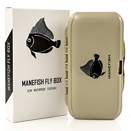 Manefish Fly Box - Slim Fly Fishing Box
