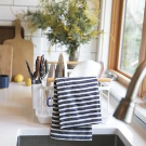 Thick Stripe Kitchen Towel | Schoolhouse Electric