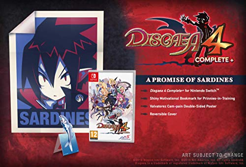 Disgaea 4 Complete+ A Promise of Sardines Edition
