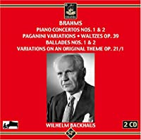 Cons Pno/16 Waltzes/Ballades/Variations