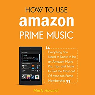 How to Use Amazon Prime Music audiobook cover art