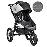 Baby Jogger Summit X3-3-Rad-Kinderwagen, Single-Modell, Schwarz/Grau