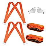 2020 Moving Straps(Sangles mobiles) 2 person Furniture Teamstrap Lifting System with Shoulder Harnesses,Feel