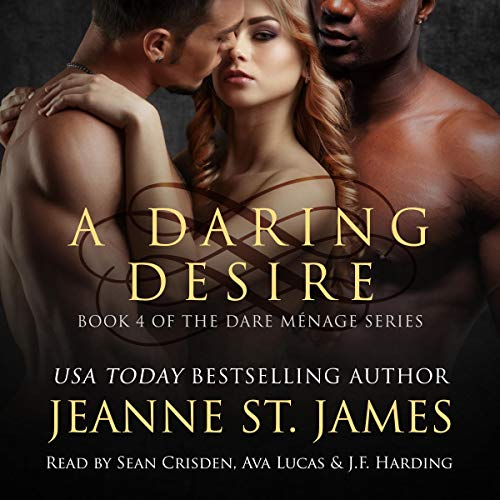 A Daring Desire audiobook cover art