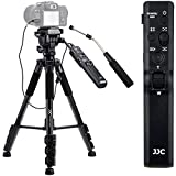 Video Remote Control Tripod for Sony FDR-AX53...