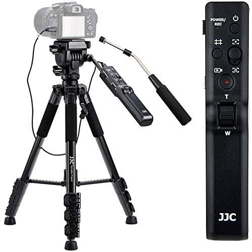 Video Remote Control Tripod for Sony FDR-AX53 AX43 AX33 AX100 AX700 HDR-CX405 CX455 CX440 CX675 Camcorder Handycam RX10M4 RX10M3 RX10M2 RX100M7 RX100M6 HX99 HX90V HX80 HX60V HX50V HX400V HX300 Camera