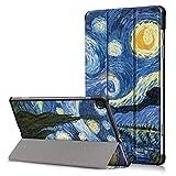 XITODA Funda para Samsung Galaxy Tab S6 Lite,Flip Case Cover Carcasa de PU Cuero para Samsung Galaxy Tab S6 Lite SM-P610/P615 10,4 Pulgadas 2020 Release Tablet,Cielo Estrellado