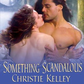 Something Scandalous audiobook cover art