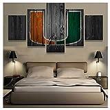 Wwjwf 5 Stücke Miami Hurricanes Neue Jungen Room Deco