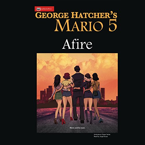 Mario 5: Afire audiobook cover art