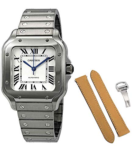 Cartier Santos De Cartier Medium Automatic Mens Watch WSSA0010