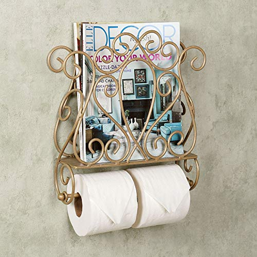Top 10 best selling list for wicker toilet paper holder with magazine rack
