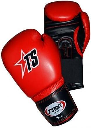 T-SPORT Künstliche Leder Handschuhe – Rot – – – 14oz B01L9CZVP6   | Sonderaktionen zum Jahresende  e1a970