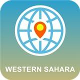 西サハラ 地図オフライン