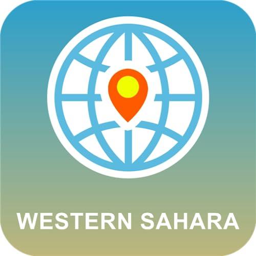 Westsahara Karte online