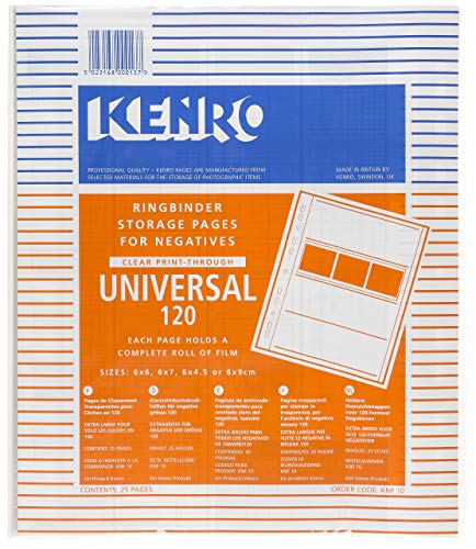 Kenro Negativo//positivo translúcido de papel de 120 páginas de Manga KNF07