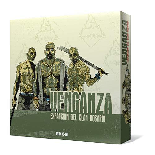 Edge Entertainment- Venganza - Expansión del Clan Rosario - Juego de tablero - Español (EEMBVE02)