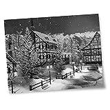 Destination Vinyl Prints - Lámina decorativa (15 x 10 cm, papel fotográfico satinado brillante, 15 x 10 cm, 280 g/m²)