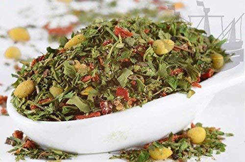 Rucola Pesto, Premium-Mischung mit Pinienkernen, 100g, für Dips, Pesto, zum Würzen von Nudelgerichten & Soßen, Trockenpesto - Bremer Gewürzhandel