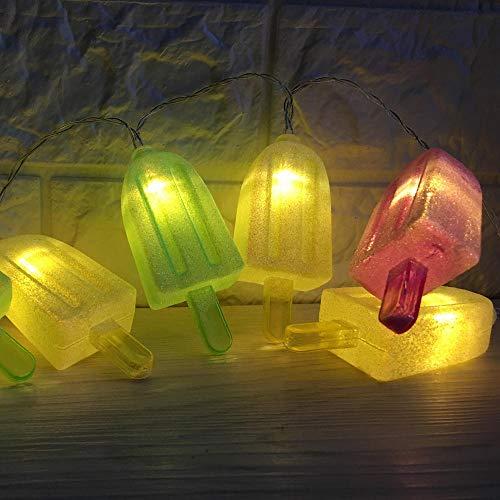 TPYFEI Luces del árbol de Navidad decoración de paletas de Cadena Luces de año Nuevo Guirnalda Luz de Noche LED Fiesta decoración de Vacaciones con batería-HLED0087_0-5 vatios