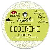 PonyHütchen Unisex-Deocreme ohne Aluminiumsalze für Damen und Herren + 50 ml Naturkosmetik Deo...