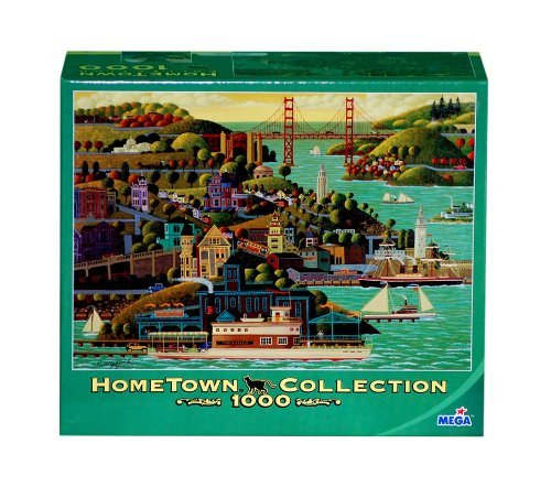 Hometown Collection Jigsaw Puzzle  Sausalito Ferry