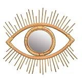 Marco de la Rota Espejo de Pared Colgante de Pared de la decoración del Arte del Ojo Colgante decoración para la Sala de Estar Dormitorio