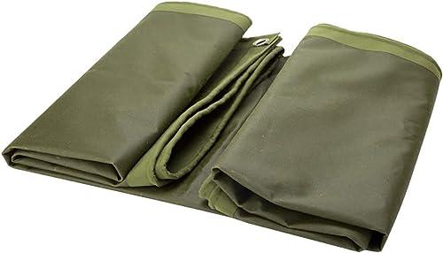 T-ShommeET Bache Résistante Imperméable à l'eau Antigel Prougeection Anti-Vieillissement Extérieur, 12 Tailles Vert Revêtement Résistant 3,8 X 3,8 M