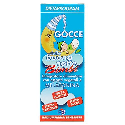 GOCCE DELLA BUONANOTTE BIMBI - Dietaprogram Integratore Alimentare, 25 ml