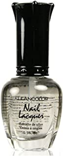 1 Kleancolor Nail Polish Lacquer #108 Top Coat Manicure + Free Earring Gift