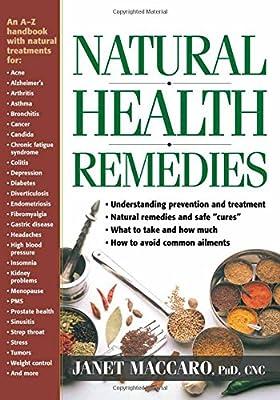 Natural Health Remedies: An A-Z handbook with natural treatments