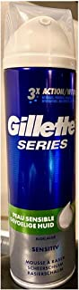 GILLETTE Series espuma de afeitar piel sensible spray 250 ml