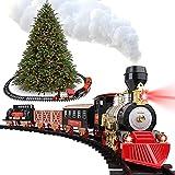 Christmas Train Set With Smoke