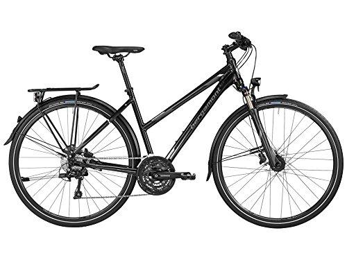 Bergamont Horizon 7.0 Damen Trekking Fahrrad schwarz/grau/silber 2016: Größe: 52cm (171-176cm)