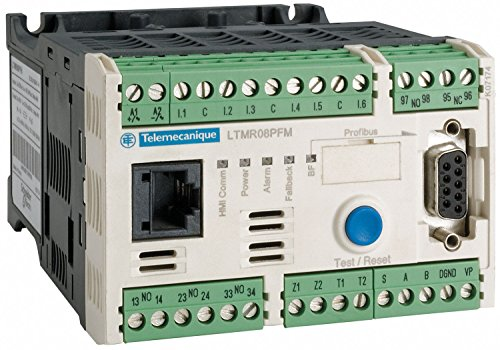SCHNEIDER ELECTRIC Motor Management System, Profibus DP Interface, 100 to 240VAC Control Voltage