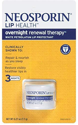Neosporin Lip Health Overnight Renewal Therapy, 5 Count