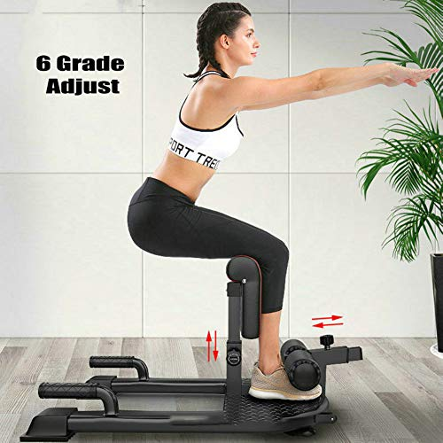 Product Image 4: Thole Household Fitness Squat Rack 3-in-1 Sit Ups Push Ab Home Gym Buttocks Workout Machine for Fitness Equipment Exerciser