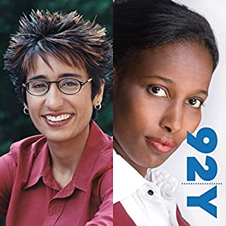 Irshad Manji and Ayaan Hirsi Ali at the 92nd Street Y on The Trouble with Islam audiobook cover art