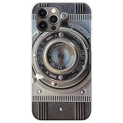 Detrola Vintage Old Detroit History Photographer Camera Film Phone Case for All iPhone, iPhone 11, iPhone XR, iPhone 7 Plus/8 Plus, Huawei, Samsung Galaxy