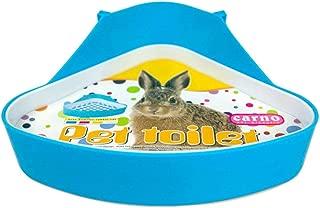 RUBYHOME Plastic Pet Toilet, Small Animal Litter Tray Corner for Hamster Pig Rabbit Pee