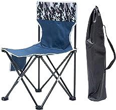 xiaowang Opvouwbare campingstoelen, met opbergtas, geschikt voor maximaal 150 kg, opvouwbare visuitrusting, voor outdoor v...