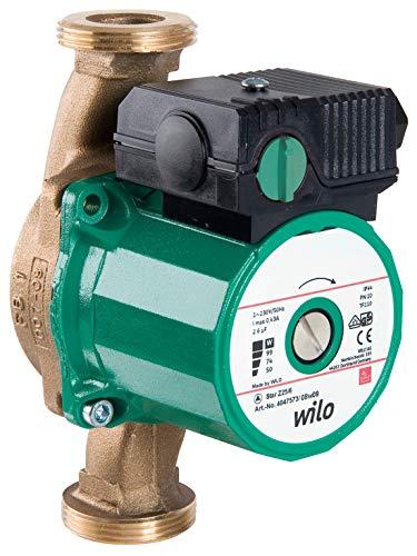 Wilo-Star-Z 25/6-3, Trinkwasser- Zirkulationspumpe, Nassläufer, Baulänge 180mm, G1 1/2